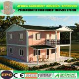 Casa pré-fabricada modular do recipiente da casa de madeira moderna Prefab para acampar