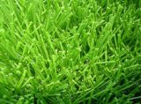 Alfombra sintetizada de la hierba del verde resistente al fuego del campo de fútbol