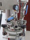 1L真空の乳状になるリアクター、高いせん断の分散の乳化剤のホモジェナイザーのミキサー