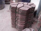 中国の赤く自然な斑岩の敷石