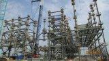 Estructura de acero del equipo de potencia
