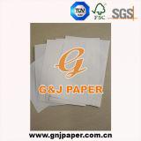 Boa qualidade de Topo branco Camisa Kraft em folhas de papel