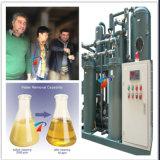 Máquina preta Waste Eco-Friendly da purificação do óleo lubrificante de petróleo de motor (TYA)