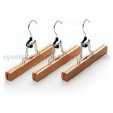 Pants Trousers Skirt를 위한 자연적인 Wood Clamp Hanger
