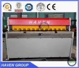 Mecânica da máquina de corte guilhotina de alta precisão