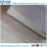 Barato 4X8FT Okoume/Bintangor Folhas de compensado de madeira de construção