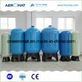 Embarcações alinhadas PE do filtro do tratamento da água