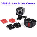Auflösung 4k 360 mini drahtlose Vorgangs-Kamera des Grad-panoramische Kamera-im Freien Sport-DV WiFi