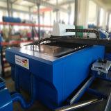 máquina de estaca de fibra óptica da tubulação do metal de folha 500With1000W