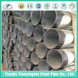 Tubo d'acciaio galvanizzato elettrico del condotto