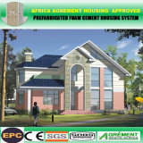 El más nuevo hogar prefabricado concreto de la playa/casas/chalet prefabricados de lujo del envase