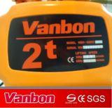 Vanbon 2ton ha spostato il tipo gru Chain elettrica