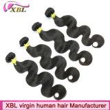 Волосы оптовой продажи девственницы бразильских волос объемной волны Weft