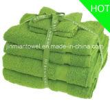De Reeks van de Handdoek van de Levering van de Fabriek van China, Reeks van de Handdoek van de Handdoek van het Hotel van de Katoenen Luxe van de Badhanddoek de Vastgestelde In het groot
