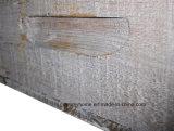 Castanho escuro nesting rectangular de madeira Bandeja de pequeno para um café que serve o quadro