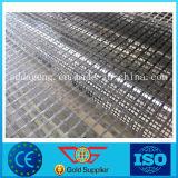 La Chine de l'asphalte de la chaussée en fibre de verre autoadhésif biaxes géogrille 50kn, 100KN