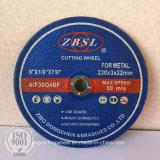 Disco de Corte abrasivos para Metal/aço-230X3X22.2