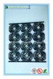 Pequeña tarjeta del PWB del LED con Soldermask negro