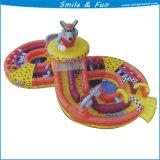 Corsa ad ostacoli gonfiabile adulta del giocattolo gonfiabile