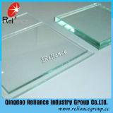 Hoja del vidrio de flotador del claro del certificado 4m m de Ce&ISO