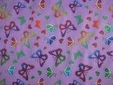 Oxford 420D 600D indéchirable tissu de polyester d'impression de papillons colorés