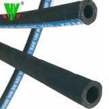 高圧ゴム製ホースはCostomizedの2インチの使用できる適用範囲が広い鋼線の編まれたホース寸法を測る
