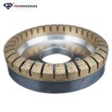 Отсутствие откалывая диаманта меля внутренне поделенное на сегменты колесо для стекла