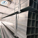 La pipe carrée galvanisée plongée chaude de l'acier Pipe/Gi a pré galvanisé le tube galvanisé de pipe en acier