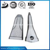 O metal forjou os dentes da cubeta do forjamento da maquinaria para a mini máquina escavadora