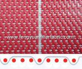 Cinto de malha de poliéster para produção de tecidos não tecidos