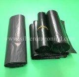 LDPE-schwarze große Plastikabfall-Beutel auf Rolle