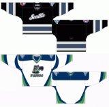 Customized Homens Mulheres Crianças Liga de Hóquei Ocidental Seattle Thunderbirds 1998-2009 Suplente Hóquei no Gelo Jersey