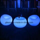 빛을내는 LED 가구, RGB 및 건전지 테이블