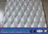 El panel decorativo de la onda de la pared de la capa del diseño de la manera