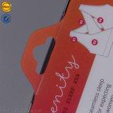 손잡이를 가진 브래지어 플라스틱 상자가 인쇄된 Sinicline 다채로운 로고에 의하여