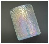 茶祝祭のための軽いイオン厚板ガラスの蝋燭の瓶のコップは祝う