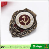 Antique su ordinazione Brass Russia Military Badges con il Pin