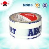 Bande adhésive acrylique d'emballage du cachetage BOPP de carton