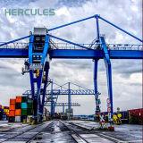 Electric Pneu en caoutchouc du port de grue à portique mobile pour la vente