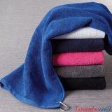 Super абсорбирующий красная ткань из микроволокна махровые полотенца для гольфа