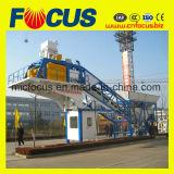 Impianto di miscelazione concreto mobile automatico, pianta d'ammucchiamento concreta mobile 50~60m3/H