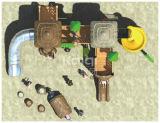 Campo de jogos plástico antigo clássico da série Kq60011A LLDPE do tribo de Kaiqi com corrediça um Climer