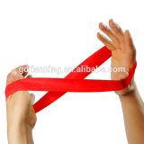 Venda de la resistencia de bucle del látex de la marca de fábrica del OEM, venda del bucle del ejercicio del látex