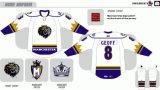 Настроить с помощью любое имя и номер Мужчины Женщины дети американской хоккейной лиги Манчестер монархов 2007-2015 Хоккей Джерси