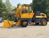 Vrachtwagen van de Concrete Mixer van de Besparing van de arbeid 4WD de Mobiele met Auto Wegend Systeem 1.5 Kubieke Meter