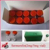 Sermorelin 아세테이트 2mg 작은 유리병 Legit 펩티드 인간적인 성장 펩티드