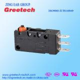 Micro interruttore di pulsante con l'interruttore del rullo