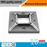 耐久および安定した品質の手すりのポストの支承板