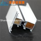Extrusion de profilés en aluminium recouvert de poudre d'accessoires pour châssis de l'écran Windows