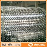 Placa diamante superfície brilhante de alumínio